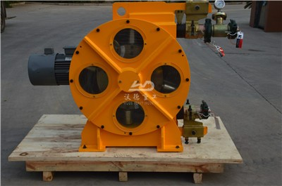 peristaltic pump for pumping wastewater