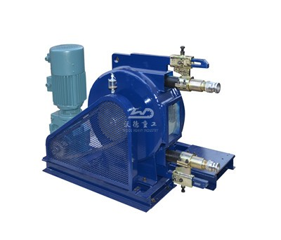 high flow rate peristaltic pump with rubber hose