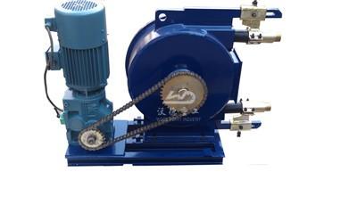 high flow rate peristaltic pump