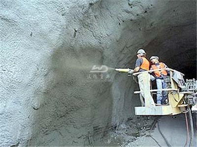 shotcrete machine for mine side walls and roof