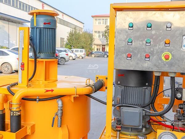 electric compact grout unit