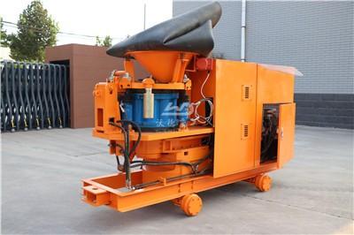tunnel concrete spraying machine