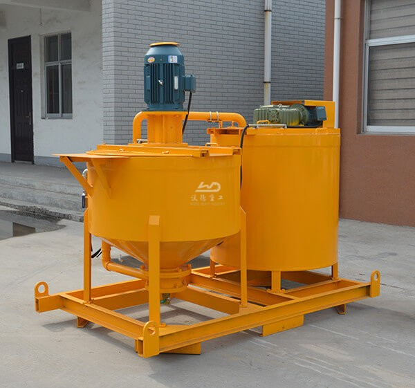 Electric high speed grout mixer machine
