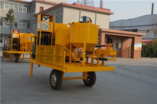 Factory price wheel mounted mixing and grouting unit Singapore