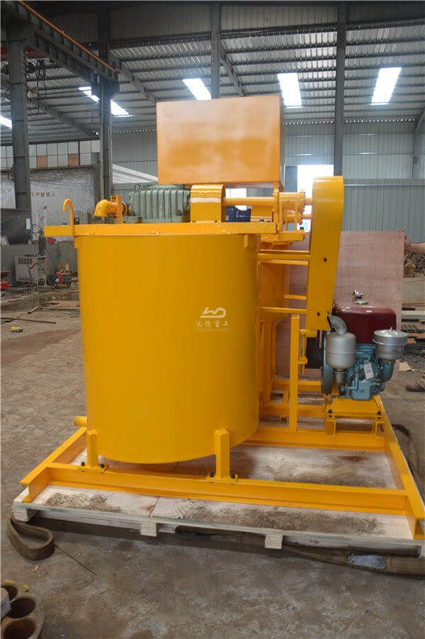 Reliable performance high shear grout mixer