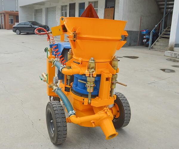 Refractory concrete shotcrete machine for sale