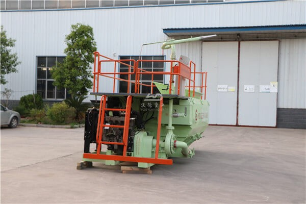 8000L capacity slope protection hydroseeder