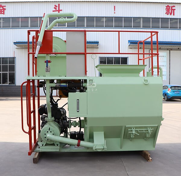 Stainless hydroseeder for mine site