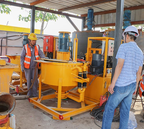 Advanced technology cement grouting plant for sale