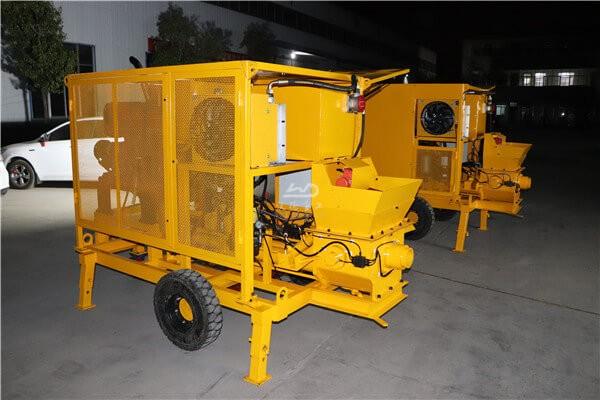 Diesel concrete pumping machines for sale